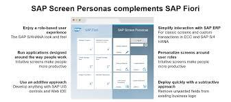 sap ux tutorial sap screen personas and sap fiori ux 2017 sap blogs