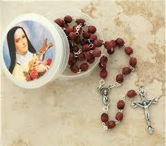 petal rosary crushed petal rosary