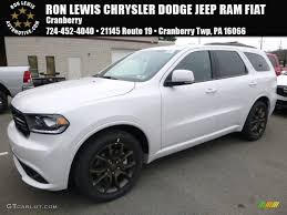 dodge jeep white 2017 vice white tri coat pearl dodge durango r t awd 119883673