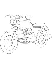 motorbikes coloring books 5 print color free