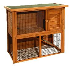 lil friends double storey rabbit hutch rabbit and guinea pig