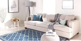 Wohnzimmer Farbe Blau Wohnzimmer Blau Beige Möbelideen