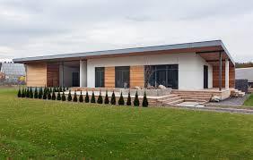 one floor house copenhagen scandinavian house built within just 118 days home