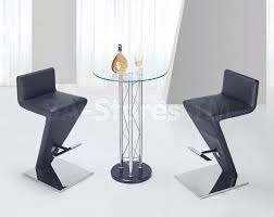 Modern Furniture Stores In Nj by Modern 3 Pc Bar Set With Unique Bar Stool 516 60 Furniture