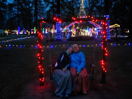 noccalula falls christmas lights 2017 thoughts of a trail bug christmas at noccalula falls