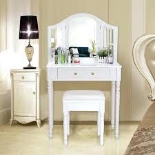 coiffeuse chambre ado meuble coiffeuse songmicsar blanc table de maquilla pour chambre ado