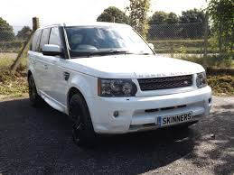 land rover sport white used 2010 land rover range rover sport tdv6 hse for sale in rye