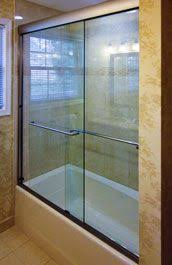 bear glass sliding glass doors for bathtubs bear glass inc