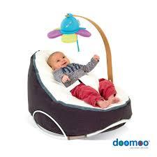 Baby Rocker Swing Chair Doomoo Seat Home Grey White With Arch Swing Www Doomoo Com Http