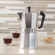 italian espresso maker stovetop coffee brewing kitchen stuff plus