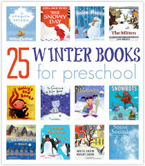 25 winter books for preschool no time for flash cards