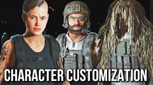 navy seal ghost mask ghost recon wildlands character customization no commentary