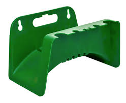 kingfisher fence wall mounted 50 m garden hose pipe holder hanger