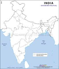 Hyderabad India Map by Political Map In A3 Size