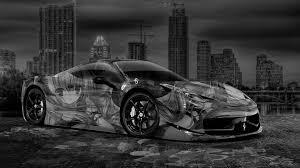 Ferrari 458 Black And White - ferrari 458 italia matte black wallpaper 2015 ferrari 458 italia