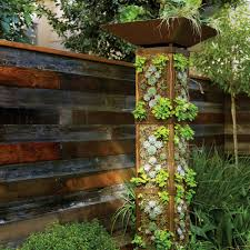 How To Build A Vertical Wall Garden by Plant A Garden Tower Sunset