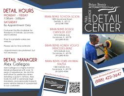 toyota car detailing brian bemis auto new volvo dodge jeep toyota mercedes benz