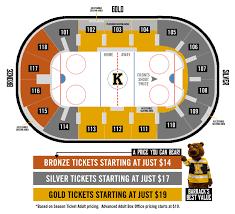 seating map u2013 kingston frontenacs