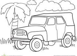 jungle coloring pages u0026 printables education