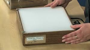 porta trace light box gagne porta trace light boxes youtube