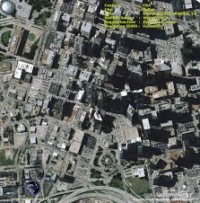 Dallas Crime Map by Worldview 2 Satellite Image Downtown Dallas Satellite Imaging Corp