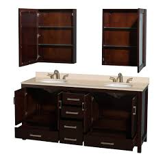 Bathroom Vanity Double Sink 72 by Sheffield 72 Inch Double Sink Bathroom Vanity Espresso Finish Set