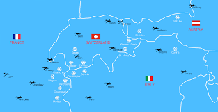 Annecy France Map by Private Jet U0026 Helicopter Charter For Skiing Bookajet Com