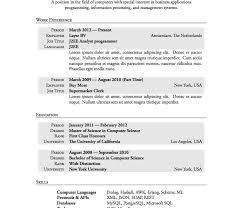 resume header templates advanced resume templates resume genius