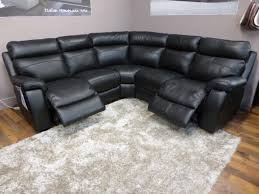 Modern Corner Sofa Uk by Furniture Living Room Black Genuine Leather Corner Sofa With