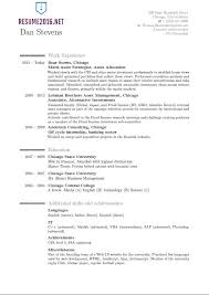 Latest Resumes Format by Latest Resume Format 2016 Resume Format Trends