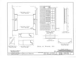 stahl house floor plan the collins c diboll vieux carré survey property info