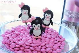 penguin baby shower penguin themed candy table baby shower