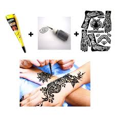 ultimate glam henna tattoo kit boom glamour
