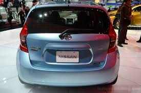 2014 Nissan Versa Note Showcased In Naias
