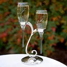 raindrop wedding chagne flutes target