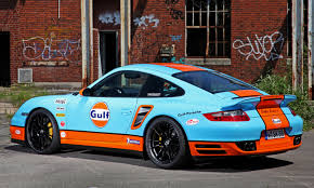 2006 Porsche 911 Turbo S Gulf Racing Livery By Cam Shaft For The Porsche 911 Turbo