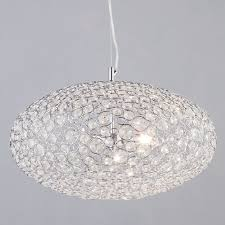ovii 3 light bathroom ceiling pendant chrome u0026 glass from litecraft