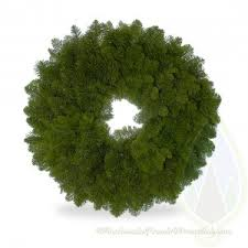 wholesale fresh evergreen wreaths wreath