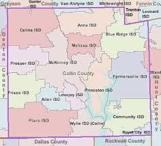 isd map collin county school districts