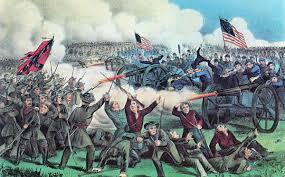 Civil War Battle Flag Orange Logic American Civil War Battle Of Gettysburg 1863
