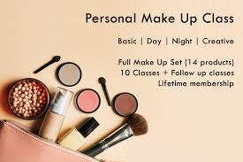 personal makeup classes personal make up class my weekend plan