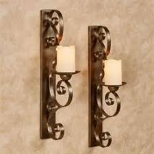 Wall Shelf Sconces Pillar Candle Wall Sconces And Candleholders Touch Of Class