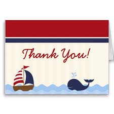 nautical thank you cards 20 best nautical thank you cards images on thank you