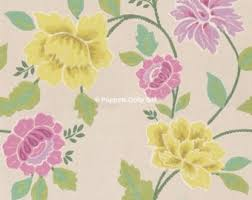 Floral Shabby Chic Wallpaper by Chic Wallpaper Etsy