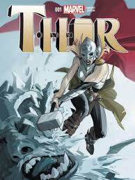 it s hammer time for a new female thor