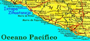zihuatanejo map zihuarob s maps of zihuatanejo ixtapa troncones and barra de