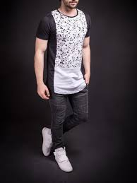 n u0026r men 3 tone stains t shirt black men u0027s fashion and man style