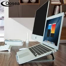 mac laptop holder for desk qosea protable lightweight aluminum laptop holder radiator stand