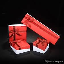 bangle bracelet box images 2018 jewelry gift packaging paper box with ribbon bow knot tie jpg