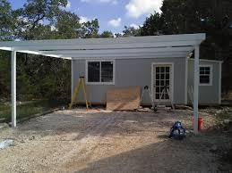 carports attached to house cotulla texas attached custom all steel carport carport patio